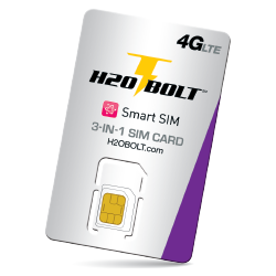 h2o wireless BOLT SIM