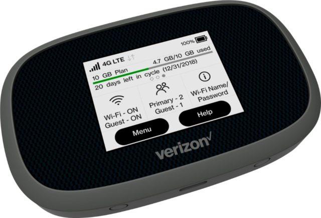 Verizon MiFi 8800L-front